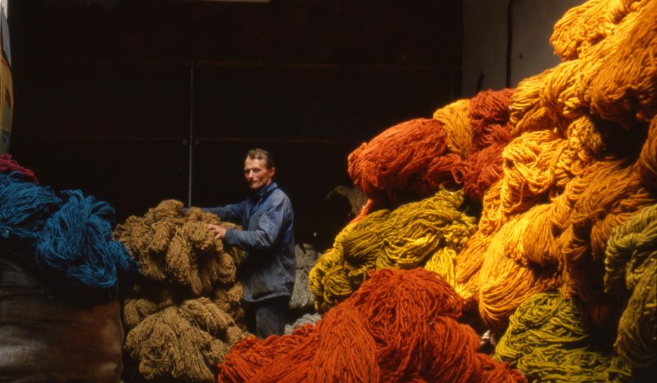 Foto magazzino lana